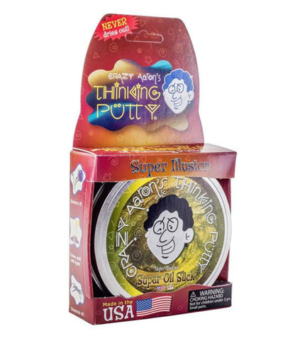 crazy aaron putty super oil slick thinking putty