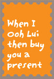 ooh lui card