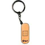 ow - badge keyring