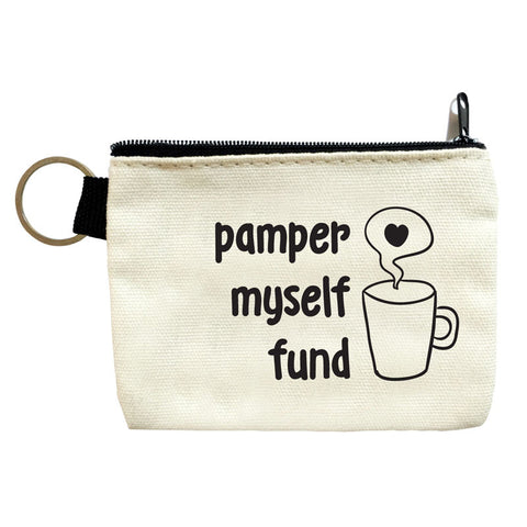 pamper myself fund coin pouch