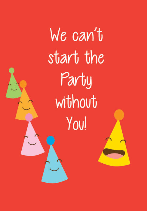 party without you! card