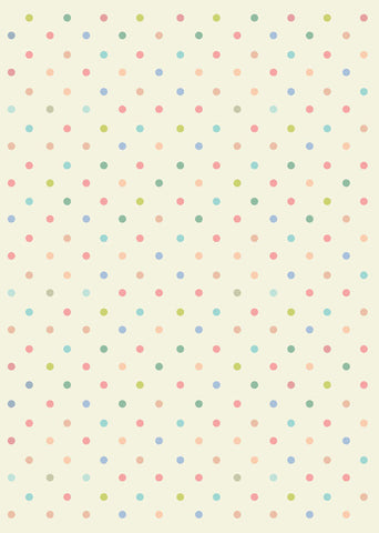 pastel dots gift wrapper (10 sheets)