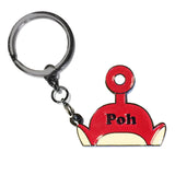 poh - badge keyring