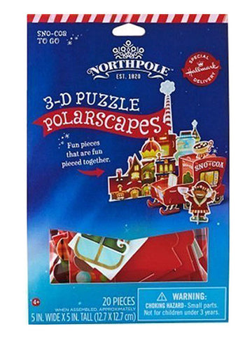 polarscapes 3D puzzle