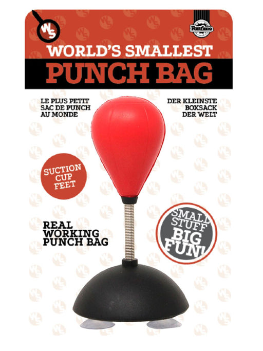 world's smallest punch bag