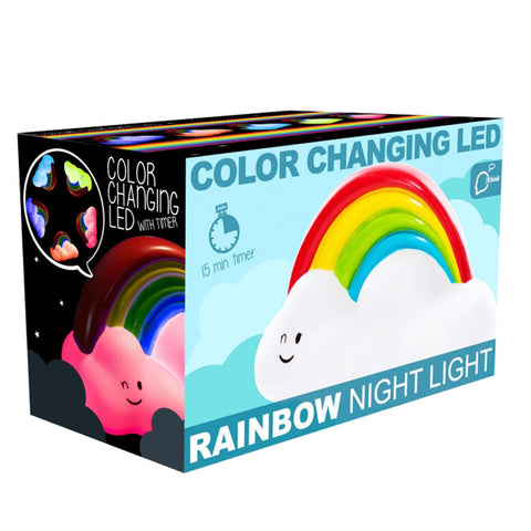 rainbow cloud night light