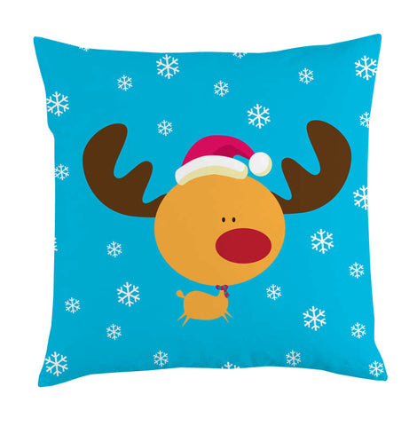 reindeer snow cushion