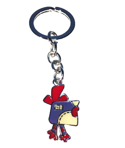 rooster zoodiac keyring