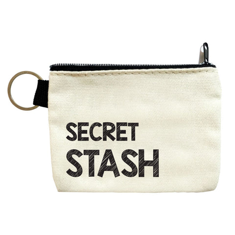 secret stash coin pouch