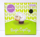 sheep cup cap