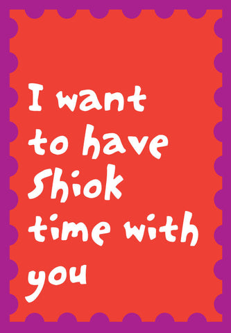 shiok time card