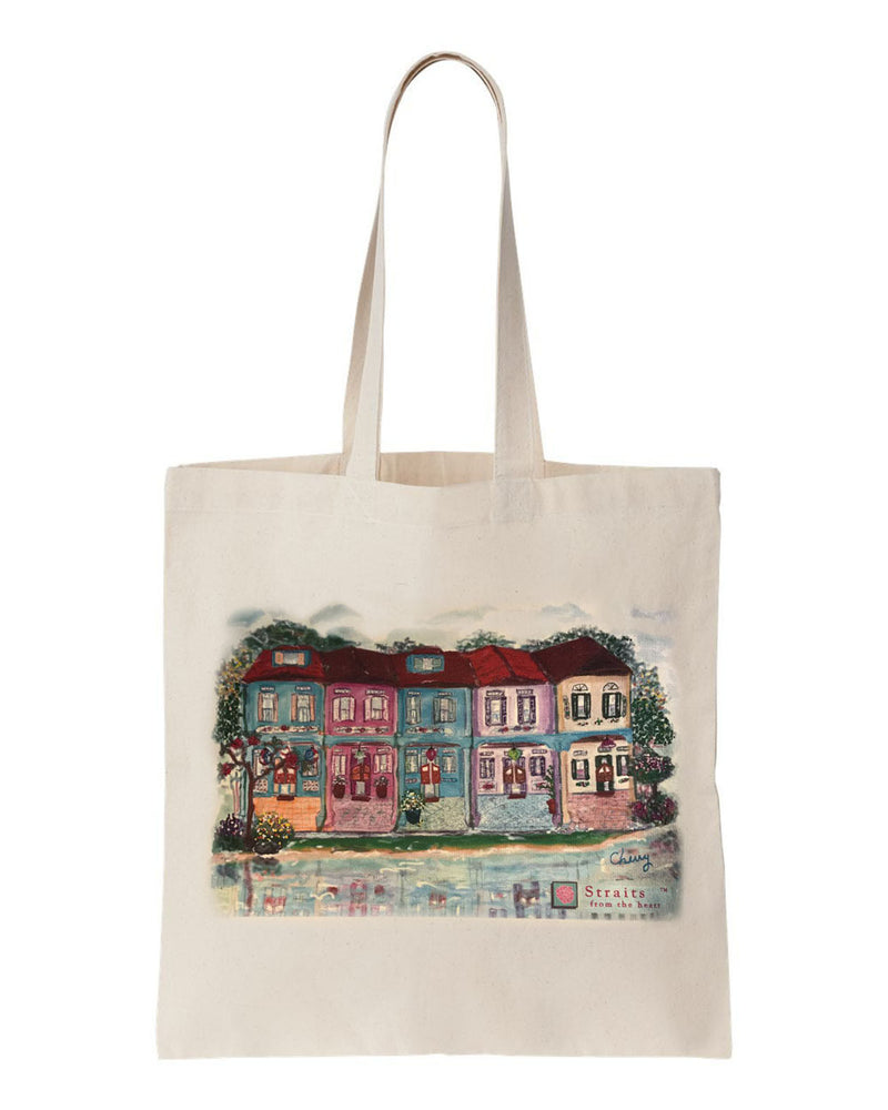 shophouse river tote bag