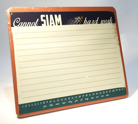 cannot siam memo mousepad