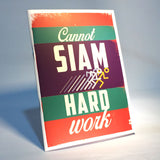 cannot siam hard work notebook