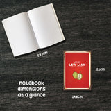 blur like sotong notebook