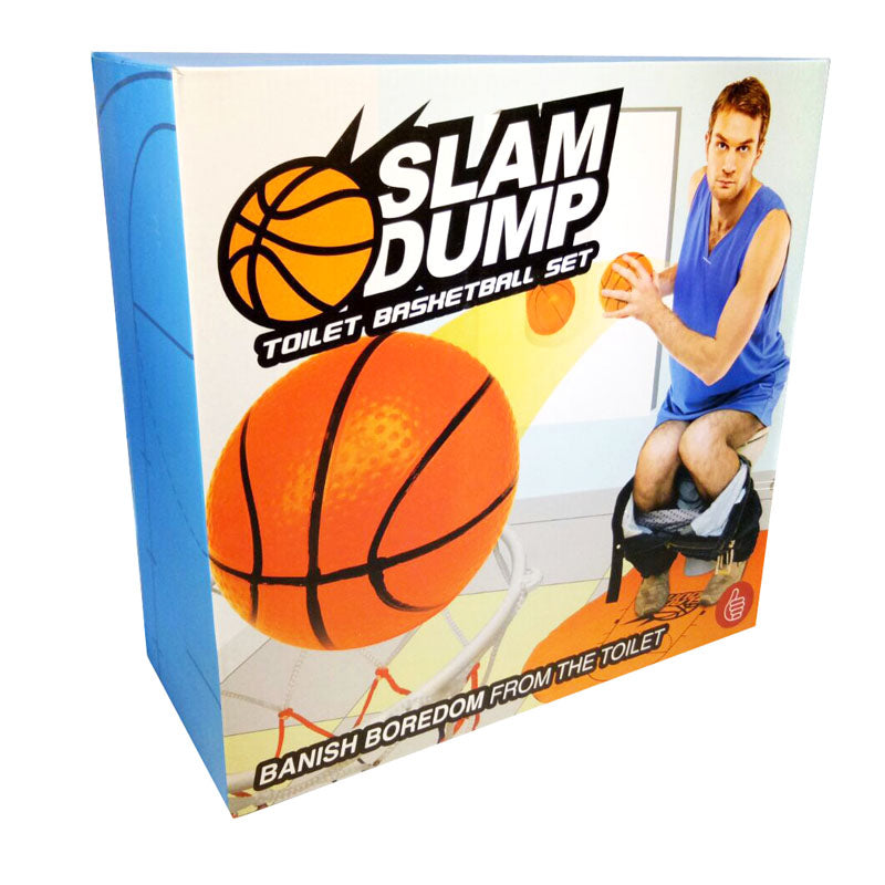 basketball slam dunk toilet
