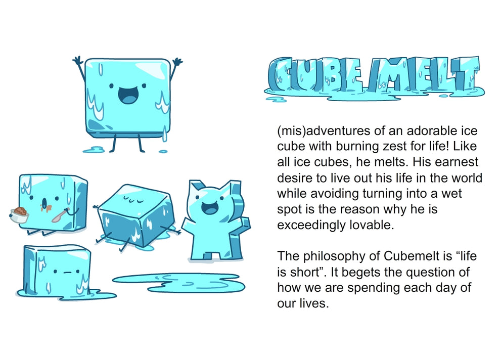 cubemelt life for others notebook