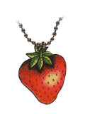 la marelle strawberry necklace