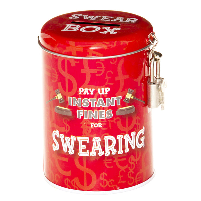 swearing fine savings tin
