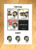 tam jiak sticker set