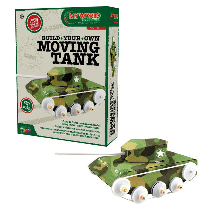 build moving tank