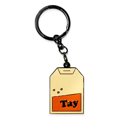 tay - badge keyring
