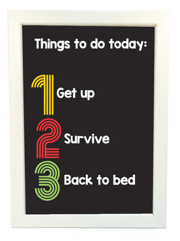things to do today poster