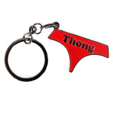 thong - badge keyring