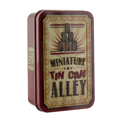 miniature tin can alley