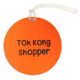 tok kong luggage tag