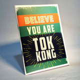 believe you are tok kong notebook