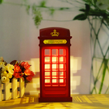 touch light telephone booth