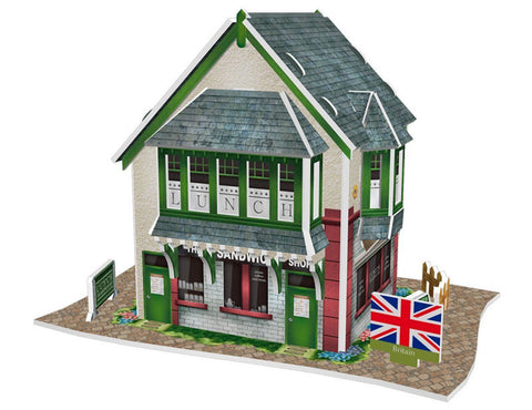 puzzle 3D uk sandwich shop