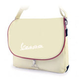 vespa messenger bag cream