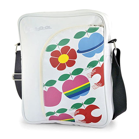 vespa shoulder bag print