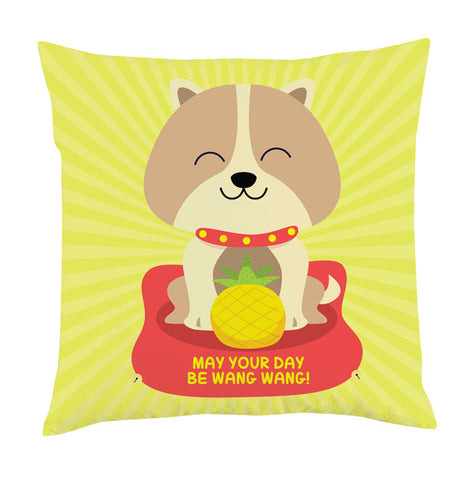 wang dog cushion