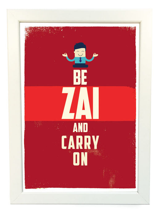 be zai poster and carry on poster