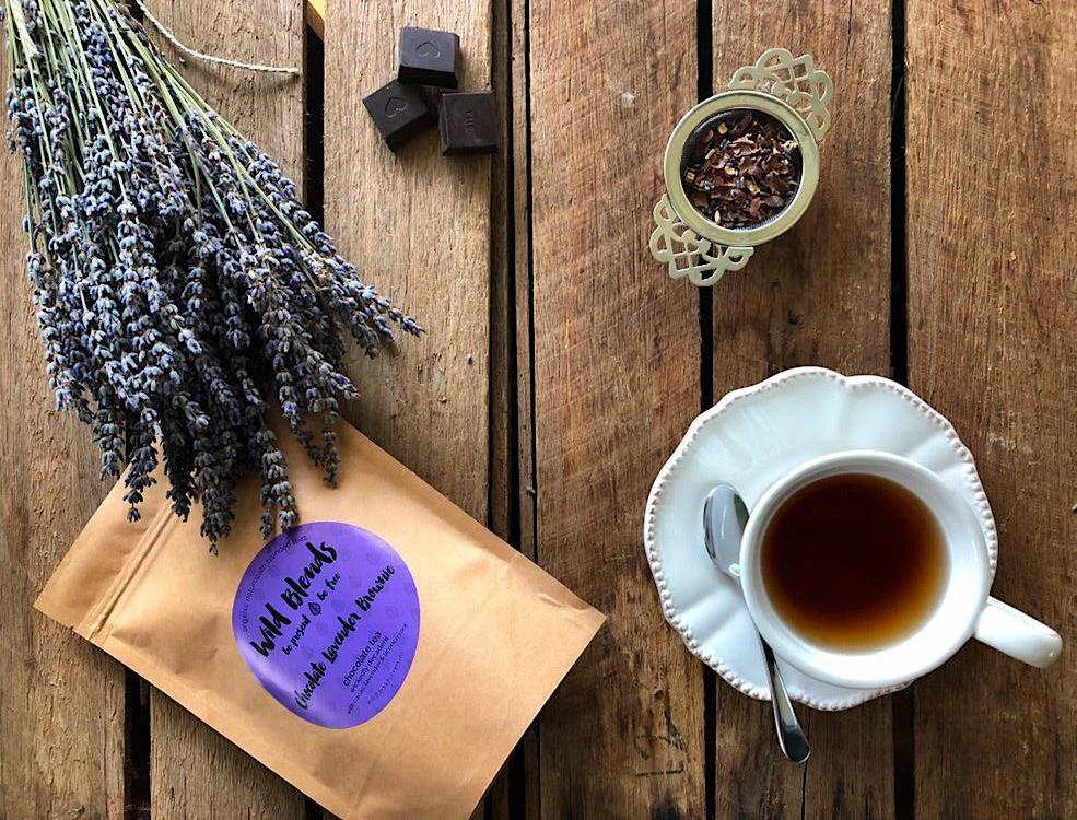 Chocolate Lavender Brownie Organic Tea