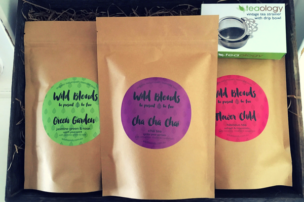 Wild Blends Organic Tea Gift Set