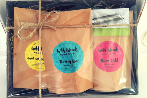 Wild Blends Organic Teas Christmas Hamper