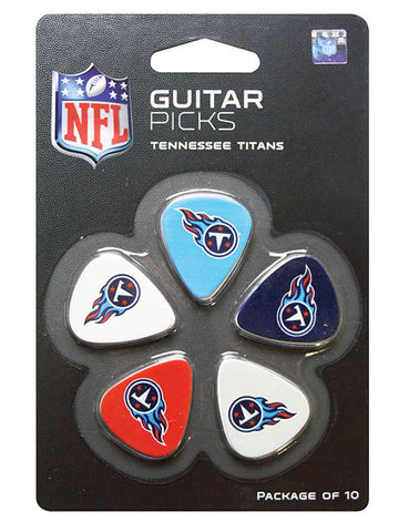 Woodrow Tennessee Titans 10-pack Guitar Picks