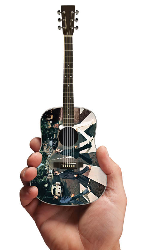 Axe Heaven FF-001 Abbey Road Fab Four Tribute Miniature Guitar Replica