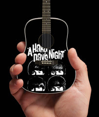 Axe Heaven FF-002 A Hard Days Night Fab Four Tribute Miniature Guitar Replica