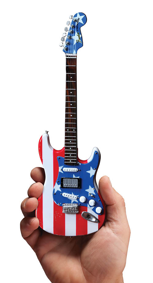 Axe Heaven Fender Stratocaster Stars & Stripes USA Wayne Kramer Guitar Replica (FS-011)