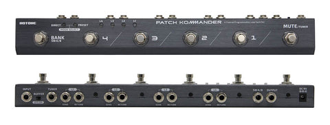 Hotone Patch Kommander 4-Channel Programmable Loop Switcher (TPLS10)