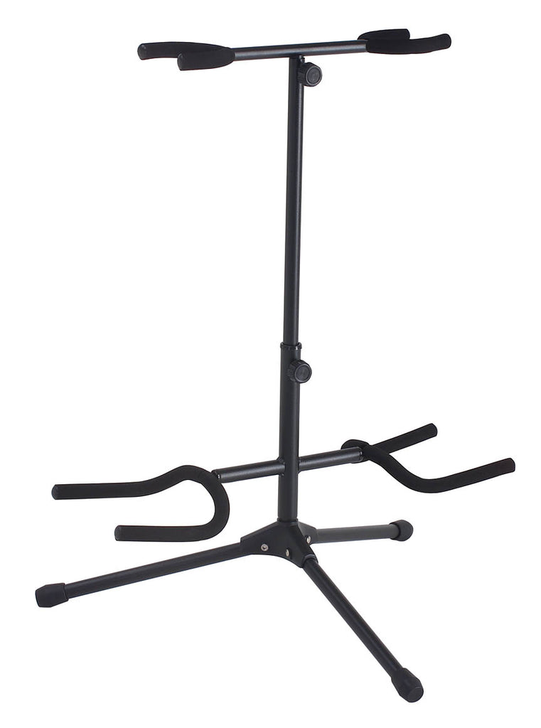 Hamilton Stands KB420G StagePro Double Cradle Guitar Stand - Black