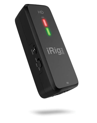 iRig IPIRIGPREHD High Definition Microphone Interface for iPhone/iPad and Mac