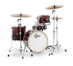 Gretsch CT1-J484-SAF Catalina Club 4 Piece Shell Pack (18/12/14/14SN) - Satin Antique Fade