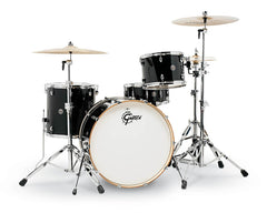Gretsch CT1-R444C-PB Catalina Club 4 Piece Shell Pack (24/13/16/14SN) - Piano Black