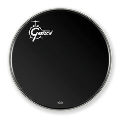 "Gretsch GRDHEB26O 26"" Offset Logo Ebon Bass Drum Head"